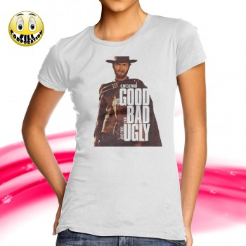 T-Shirt Donna BOBO VIERI TRASH ZIO PORCONE WHY SO HAPPINESS dio p pd