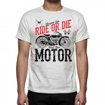 T-SHIRT MOTO CAFE RACER...