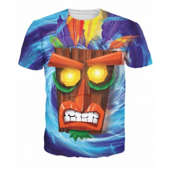 T-SHIRT AKU AKU CRASH...