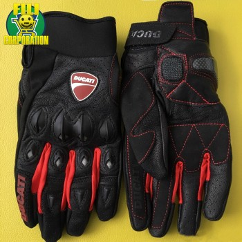 GUANTI DUCATI GLOVES NERO...