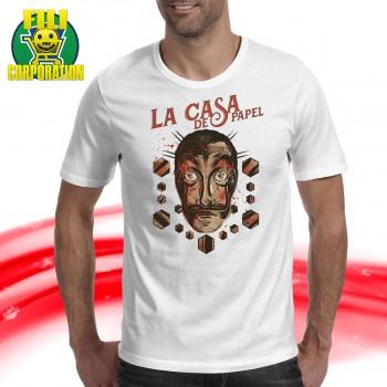 T-SHIRT LA CASA DI CARTA...