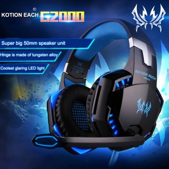 CUFFIE GAMING KOTION G2000...