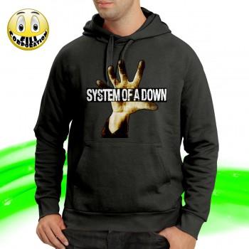 T-SHIRT FELPA  SYSTEM OF A...