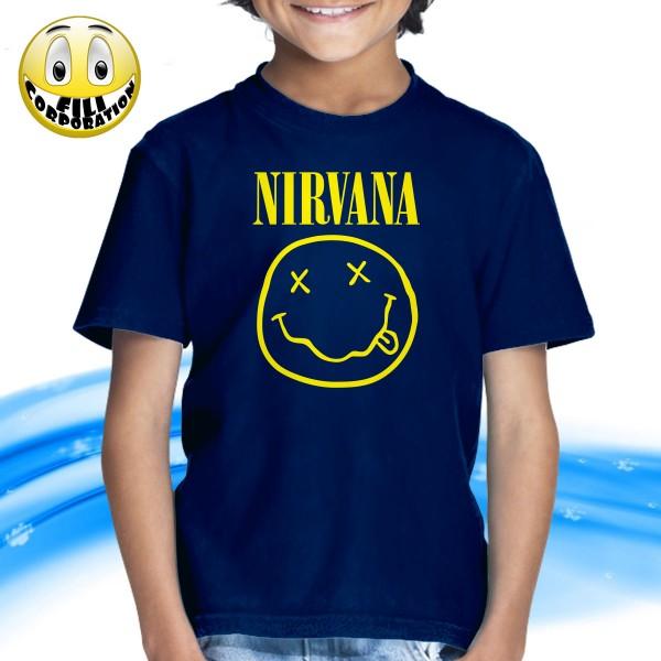 in vendita eb134 b698e T-SHIRT FELPA NIRVANA KURT COBAIN GRUNGE NEVERMIND ALTERNATIVE ROCK MTV  MUSICA