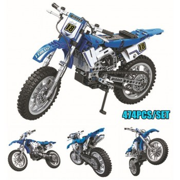 ✅ MOTOCROSS MOTO CROSS BIKE TECHNIC MOTO TECNIC COSTRUZIONI LEGO COMPATIBILE