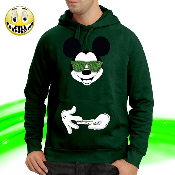 Robin Hood - Uomo Felpa Con Cappuccio Felpa Con Cappuccio DISNEY Mickey Mouse Topolino Cappuccio