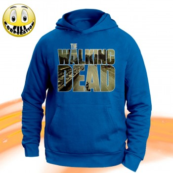 T-SHIRT FELPA  THE WALKING...