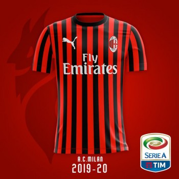 T-SHIRT A.C MILAN REPLICA...