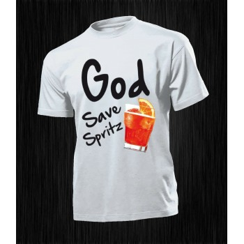T-SHIRT GOD SAVE SPRITZ...